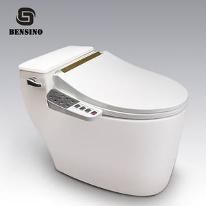 Automatic Cleaning Cushion Cover Water Jet Smart Slow Down Lid Electric Bidet Toilet Seat