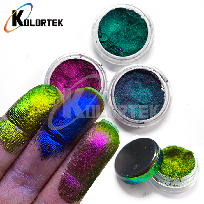 Hot sale color shifting chameleon pigment powder eyeshadow cosmetic grade pigment