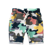 Mudkingdom baby boys wholesale summer camouflage shorts with pockets