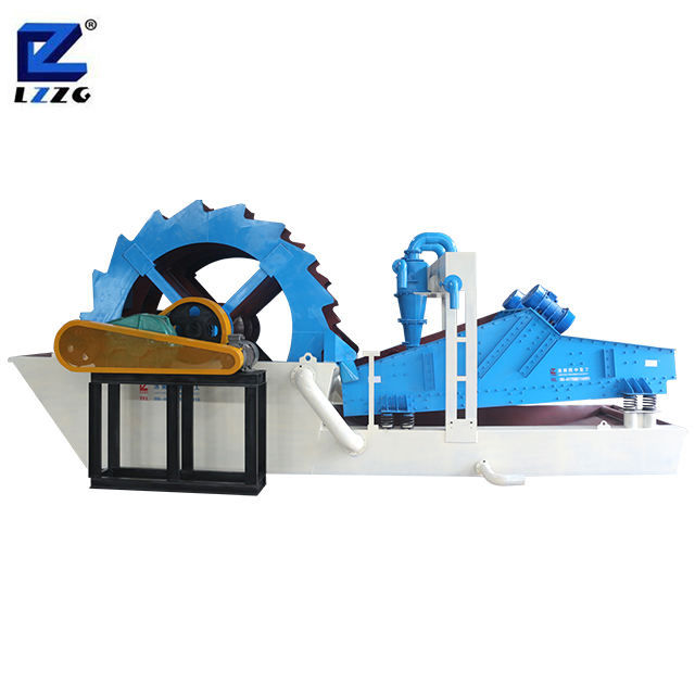 Top quality bucket silica processing silica sand wash plant