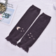 2020 newborn ruffled leg warmers cotton knitted baby leg warmers moon and star infant leg warmers