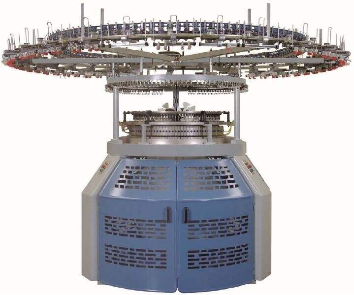 SUNTECH Small Diameter seamless pattern wheel circular knitting machine