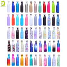 500ml New design stainless steel water bottle custom logo for sport water bottle