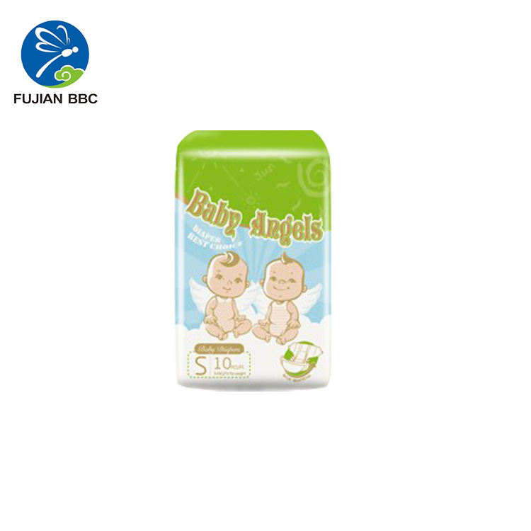 eco friendly bamboo fiber organic diapers OEM Factory Magic Tape Disposable Baby Diaper Manufacturers In China