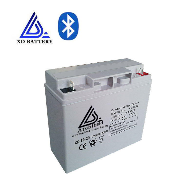 Rechargeable deep cycle 12v 20 ah lihtium lifepo4 battery pack for electric golf