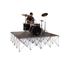 Good price 4ftx4ft dj music portable drum riser stand stage