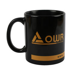 Customized Design Sublimation Ceramic Mug Straight 11 OZ Ceramic Coffee Cup With Handle