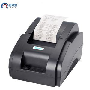 JEPOD XP-58IIH xprinter pos terminal ticket bill printer 58mm Bluetooth Printer Thermal driver download for retail store
