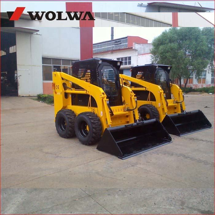 universal skid steer loader loading capacity 850kg with hydraulic joystick control many optional attachment
