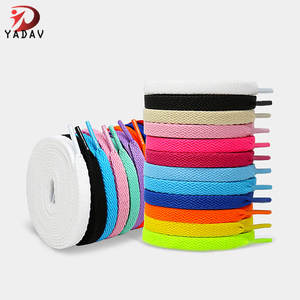 Wholesale various styles premium flat bulk football shoelaces for sneakers soccer shoes