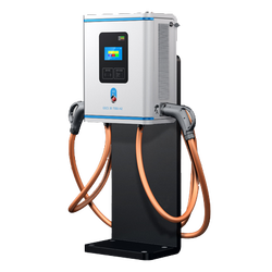 400V 30KW DC EV charger with CCS2 CHAdeMO connector EV DC Charger