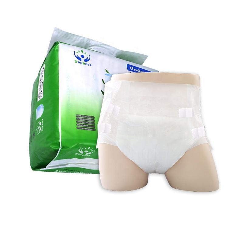 free samples cheap in bulk ultra thick disposable adult diapers pants