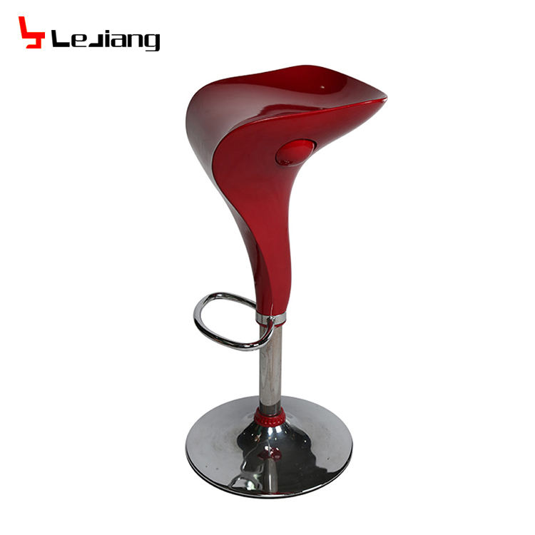 wholesale cheap price metal chrome base used bar stools