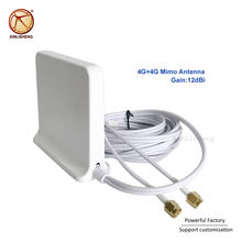 698-2700Mhz Omni indoor Magnetic Base lte wifi White 2x2 Mimo Antenna 4G