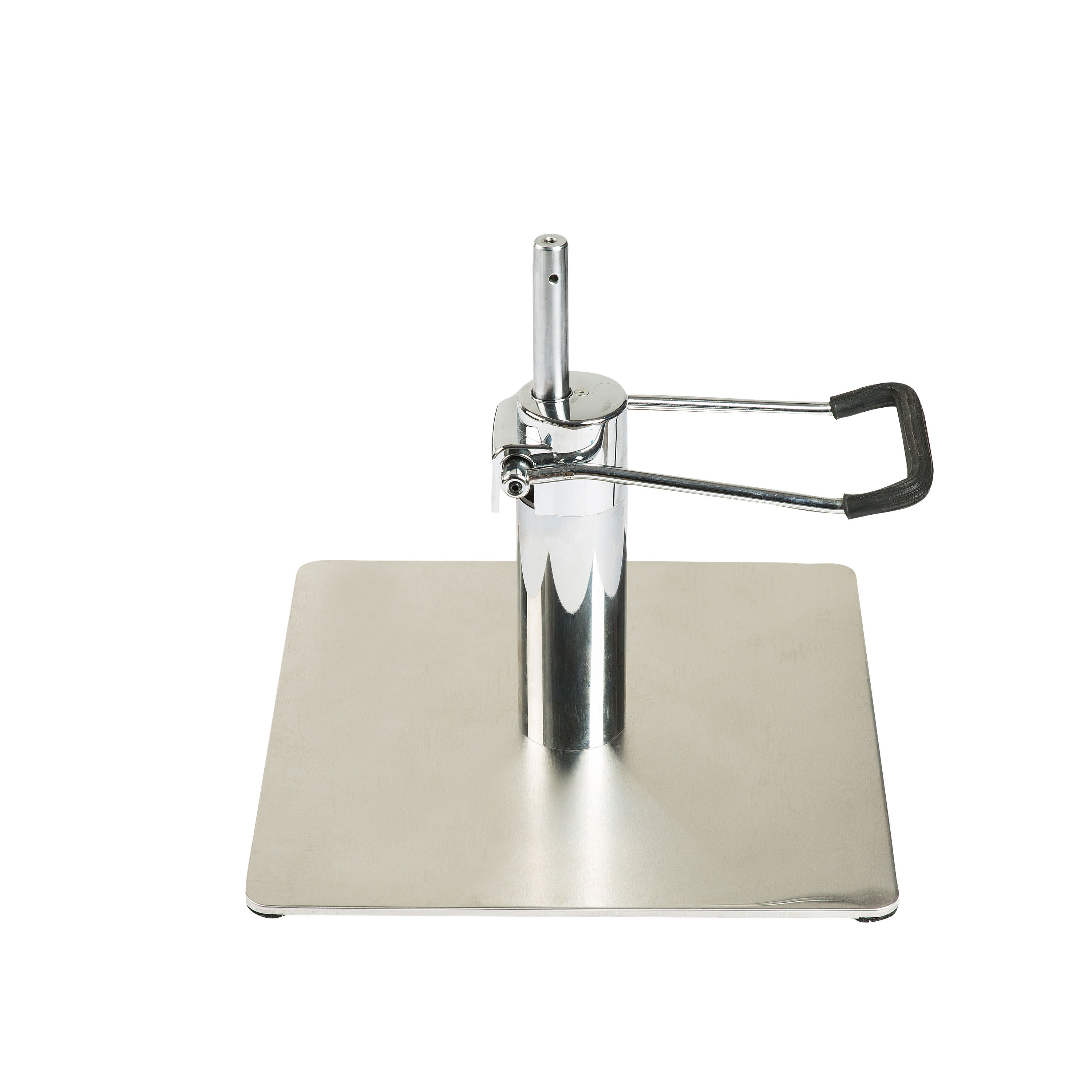 metal chrome chair base / square hydraulic barber chair base and pump