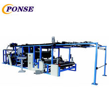 Glue dot transfer Laminating machine for textiles and non-woven products