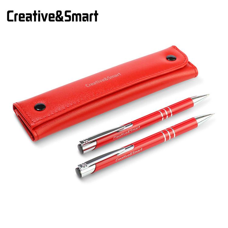 Горячие продажи 0,7 мм красный Роскошные бесплатный образец металлическая автоматический механический карандаш