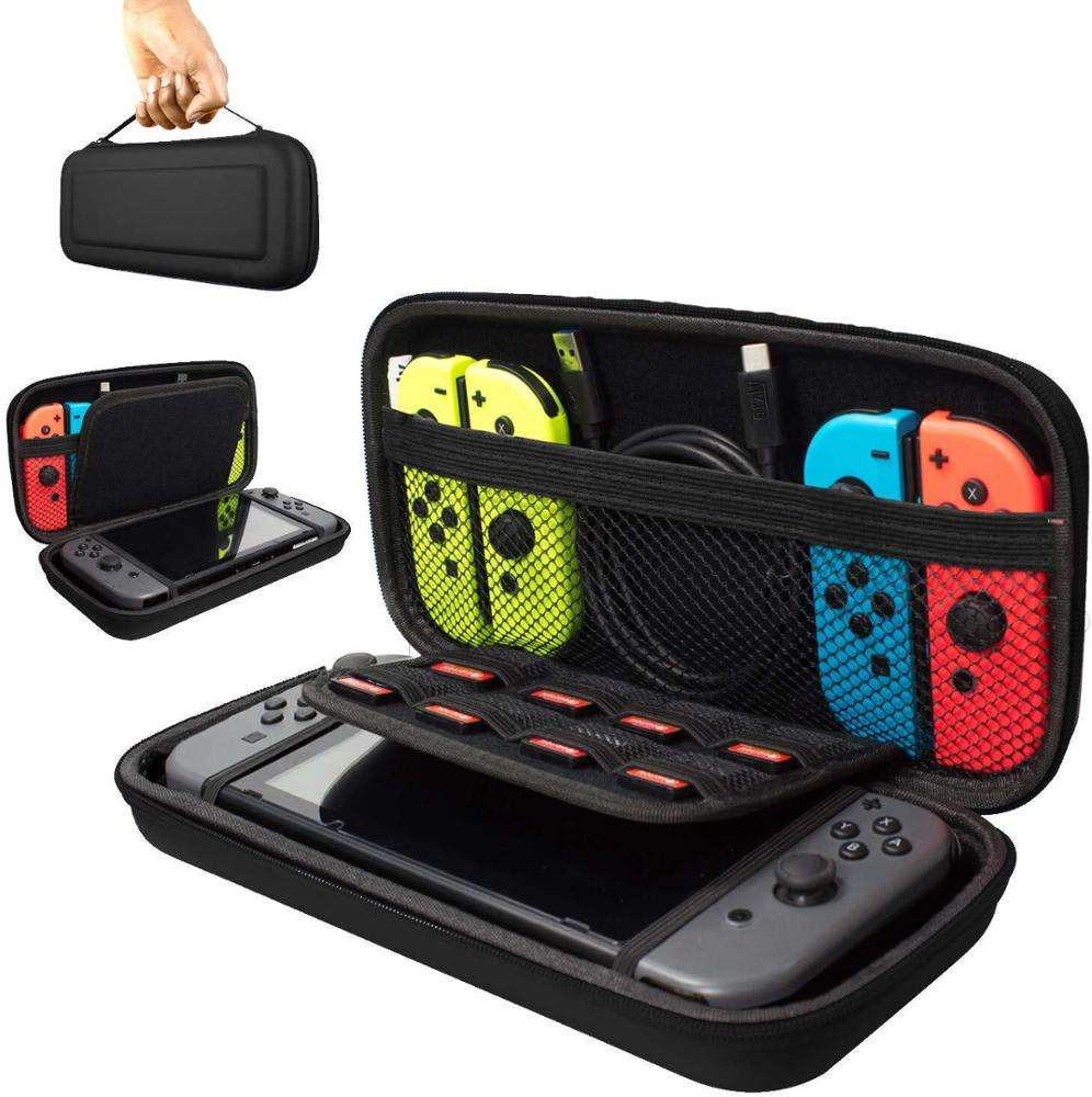 waterproof Protective Travel carrying hard shell eva case for game controller for nintendo switch case