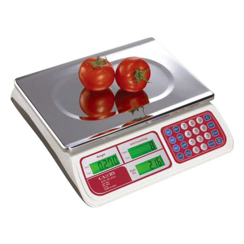 Camry-JC31 OIML approved model Electronic Price Counting Scale digital weighing scale 15kg/5g LED Dual-display 30kg/10g