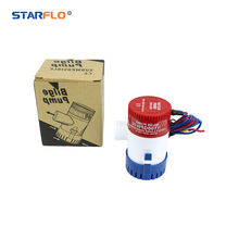 STARFLO 1100GPH 12V DC portable high capacity electrical attwood bilge pumps for small boats