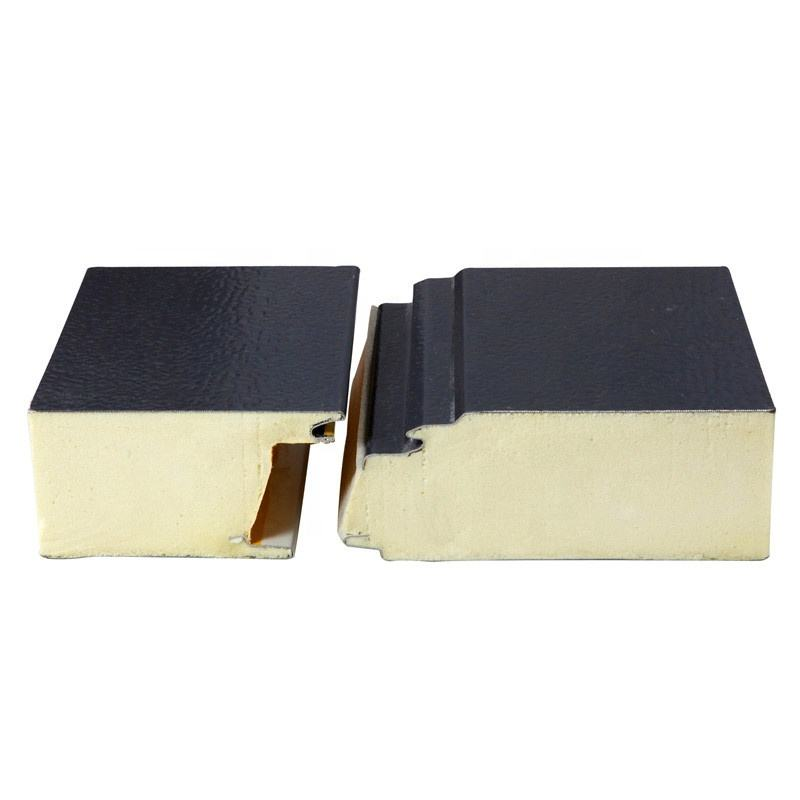 Factory Direct Supply High Quality PU Polyurethane Sandwich Panel, Insulated PIR Sandwich Panel.EPS Rock wool Sandwich Panel