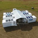 Advanced shipping container combination army camping hospital modular prefabricated mobile container clinic