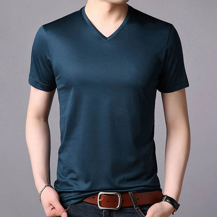 Byval Garment Factory Price Mens Underwear T-Shirt 95% Cotton 5% Spandex T shirt