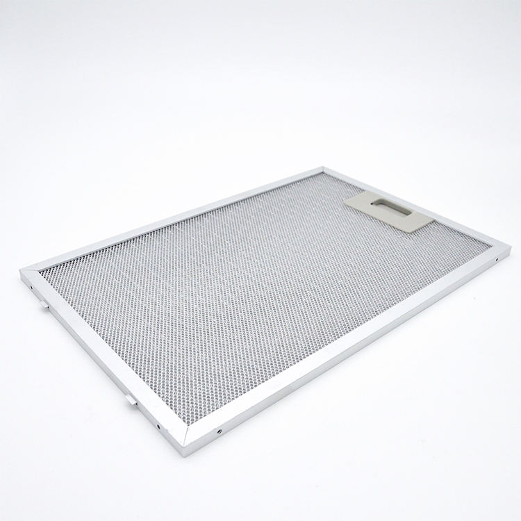 Replacement Kitchen Aluminum Range Hood Grease Mesh Filter For Cooker Hood