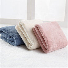 Hot sale OEM super water absorption skin-friendly soft plush microfiber bath towel swimming towel with logo