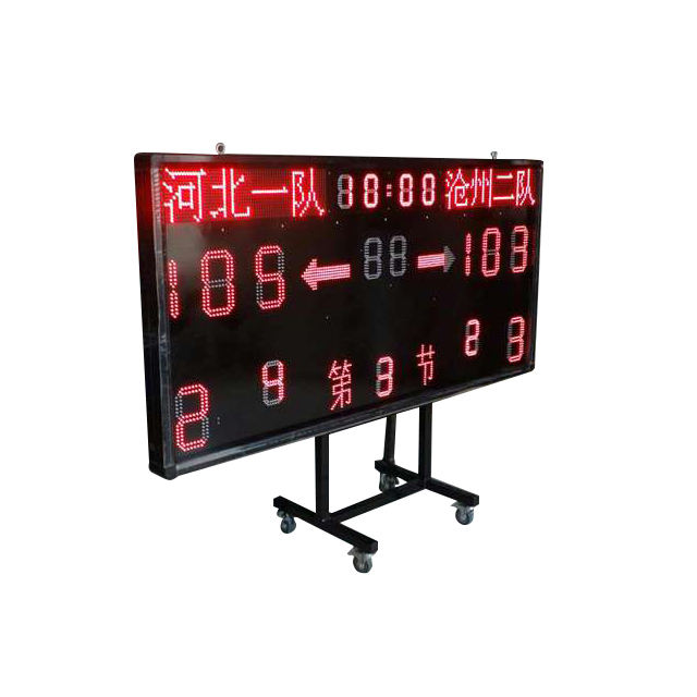 Hot sale electronic led portable LED Basketball/Football scoreboard for sale