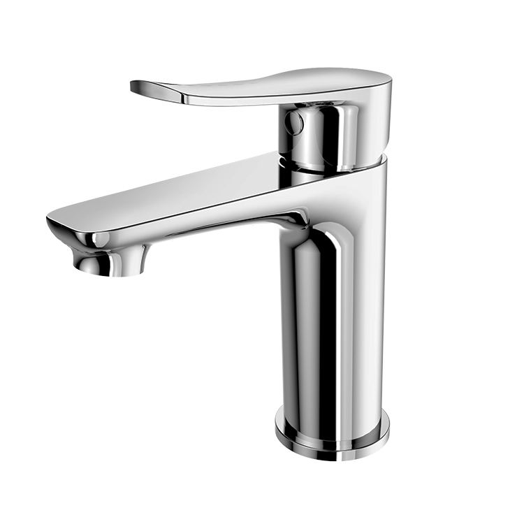 HUIDA beautiful price China manufactory direct brass single hole bathroom basin mixer faucet