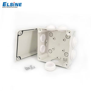 Waterproof Electric Box  PC/ABS  distribution board IP65 junction box with cable glands
