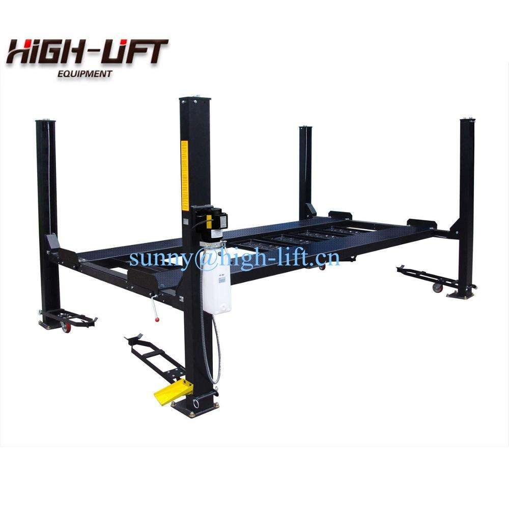 High Quality Electro-hydraulic Car Parking Lift 4 four Post Car Parking Lift