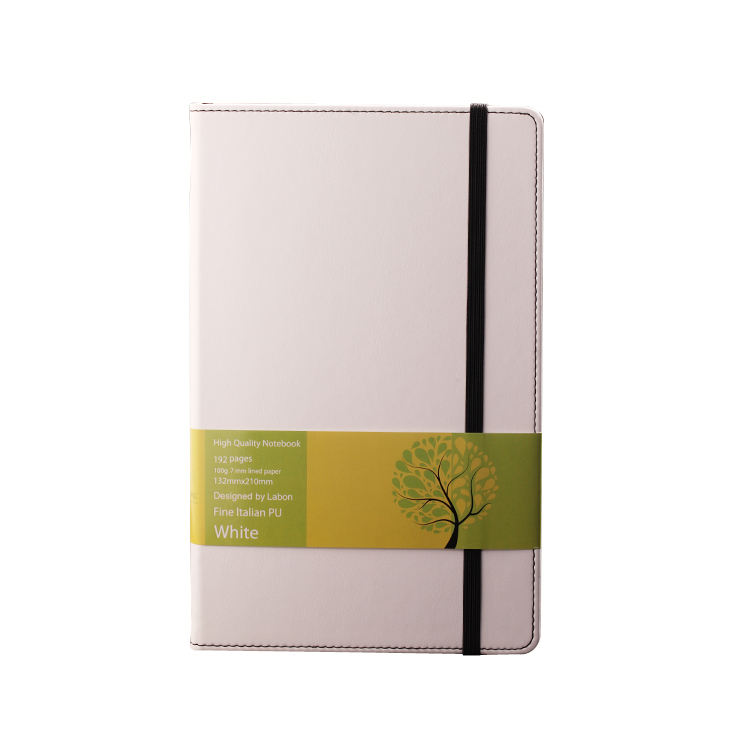 Labon Stationery and Office Supplies White Diaries Branded Note books Yiwu Custom Printing