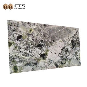 Factory Price Manufacturer Wholesale Cheap Natural Stone Ice Green Marble