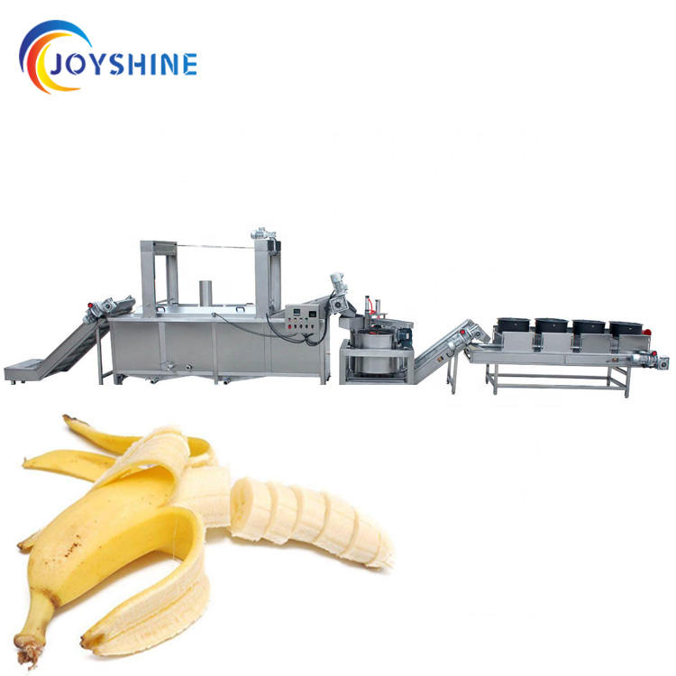 electric heating gas heating plantain chips production line chips de plantain ligne de production