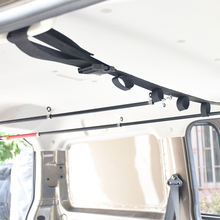 overhead fishing rod holder for vehicle