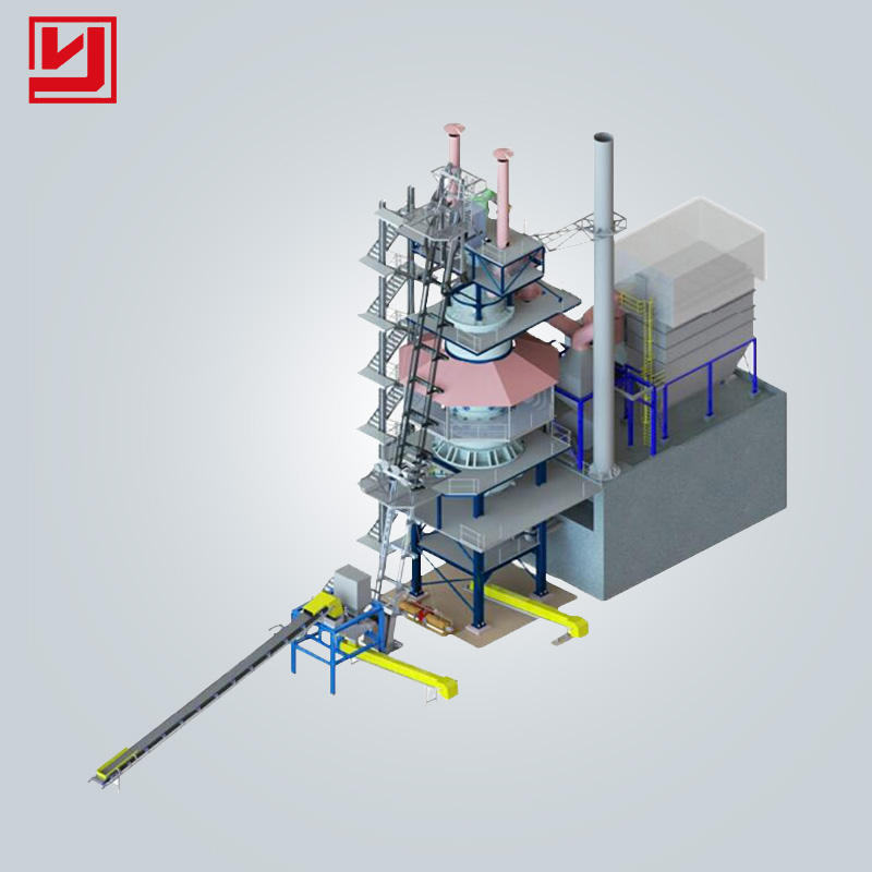 Henan Yuhong 200tpd Vertical Shaft Lime Kiln Hot sale in africa