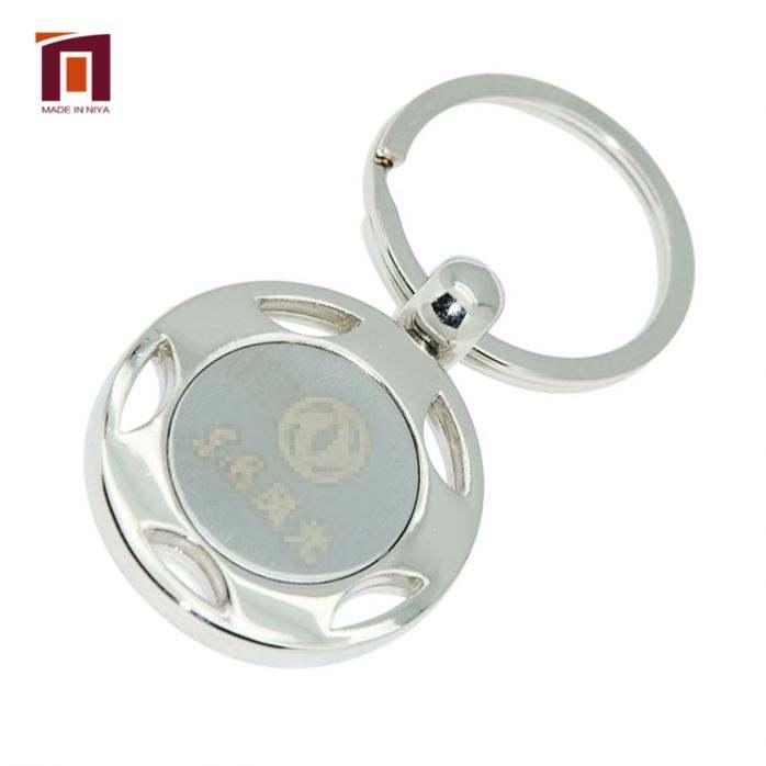مصنع مخصص امرأة دالاس كاوبويز الكاراتيه ميدالية مفاتيح معدنية