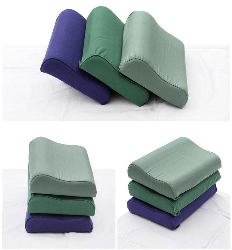 Hot sale comfortable pillow type 07 army pillow, military army nursing neck pillow