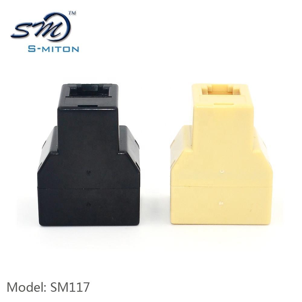 Phone Line CABLE SPLITTER 6P6C RJ12 Connectors 1 Male 2 Female