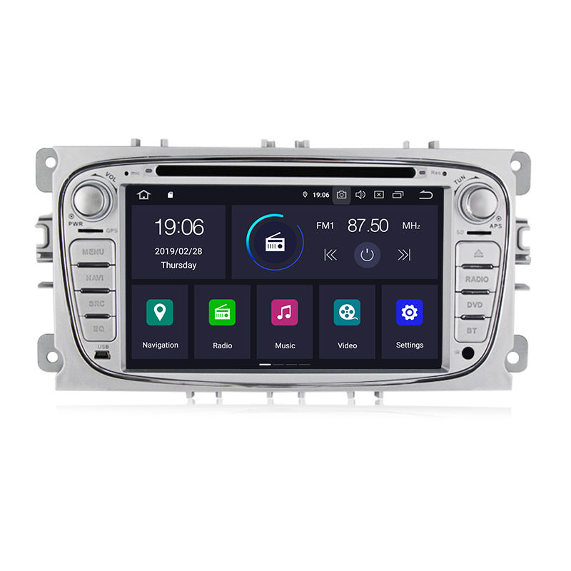 "Mekede7 ""2DIN Android 9.0 Auto <span class=keywords><strong>DVD</strong></span>-Player für Ford C-Max Connect Fiesta Fusion Galaxy Mondeo S Max Stereo-Audio GPS IPS DSP"