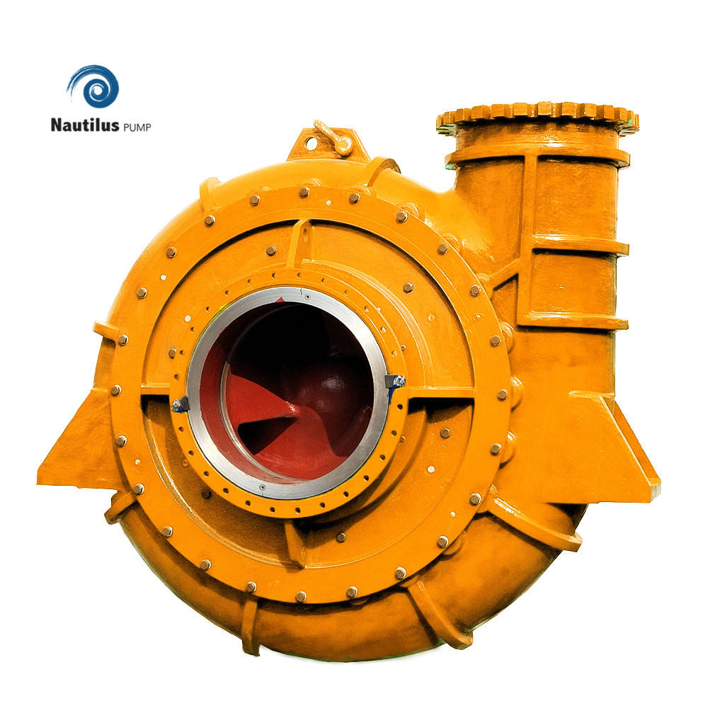 anti abrasion river dredger pump sand mud suction pump