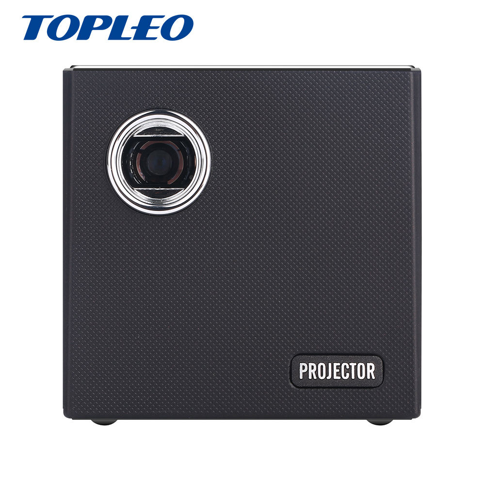 Shenzhen Factory price Topleo C80 diffuse reflection imaging touch panel mini dlp pico pocket projector