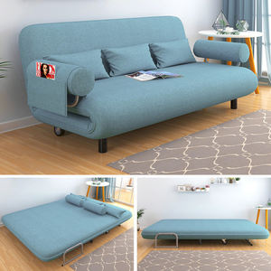Small house functional living room sofa bed set