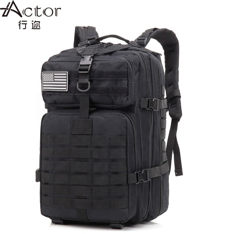 Actor tactical backpack 50l hiking sling bag