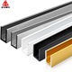 Customized 5052 6061 6063 7075 aluminum alloy Aluminum extrusion profiles