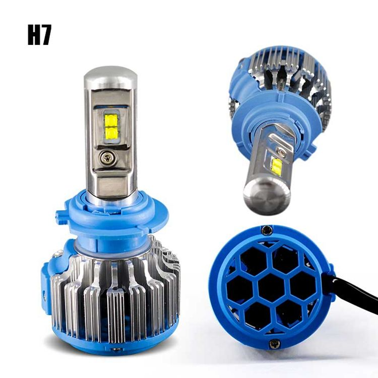 2020 New design Turbo T1 LED Canbus H7 H4 LED Headlight Bulbs for All Car