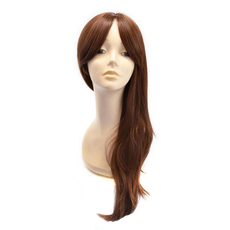Perücke aus synthetischem Haar-Topper für schwarze Afroamerikanerinnen, Monofilament-Perückenhaarperücken für den Verkauf