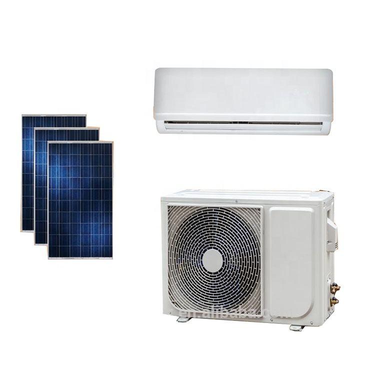 Alta eficiencia en el sistema solar rejilla 24000BTU energía limpia <span class=keywords><strong>acondicionador</strong></span> <span class=keywords><strong>de</strong></span> <span class=keywords><strong>aire</strong></span> solar